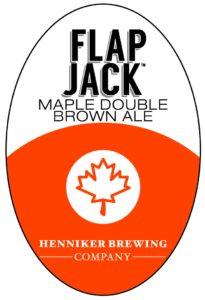 Flap Jack tap handle sticker