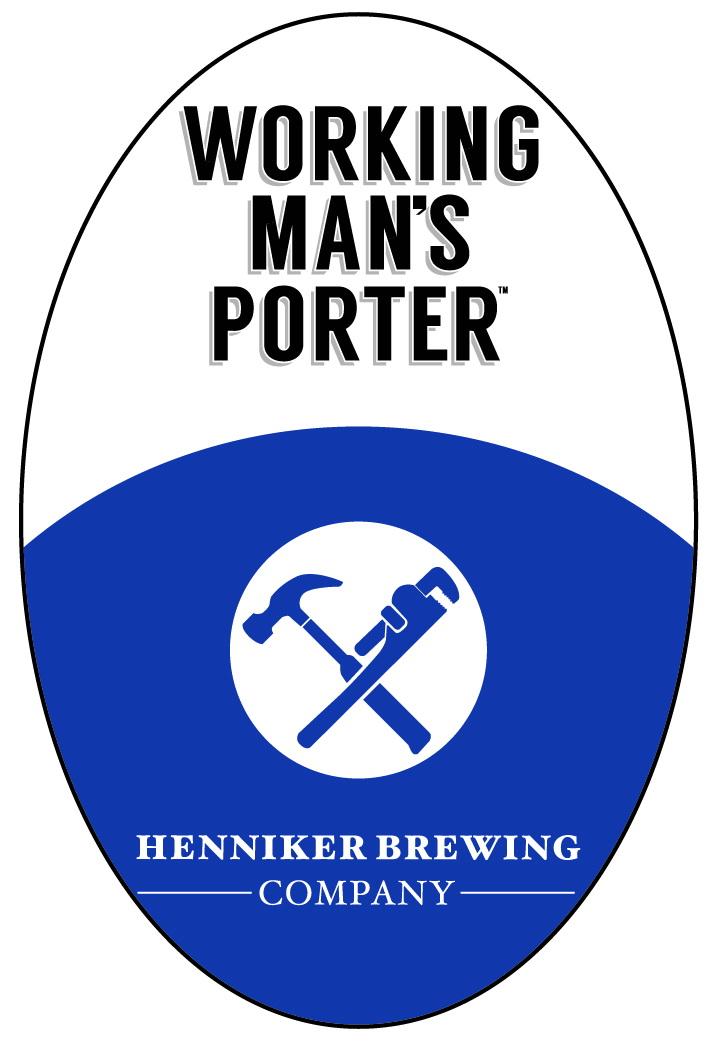 Working Man's Porter Tap Handle Sticker