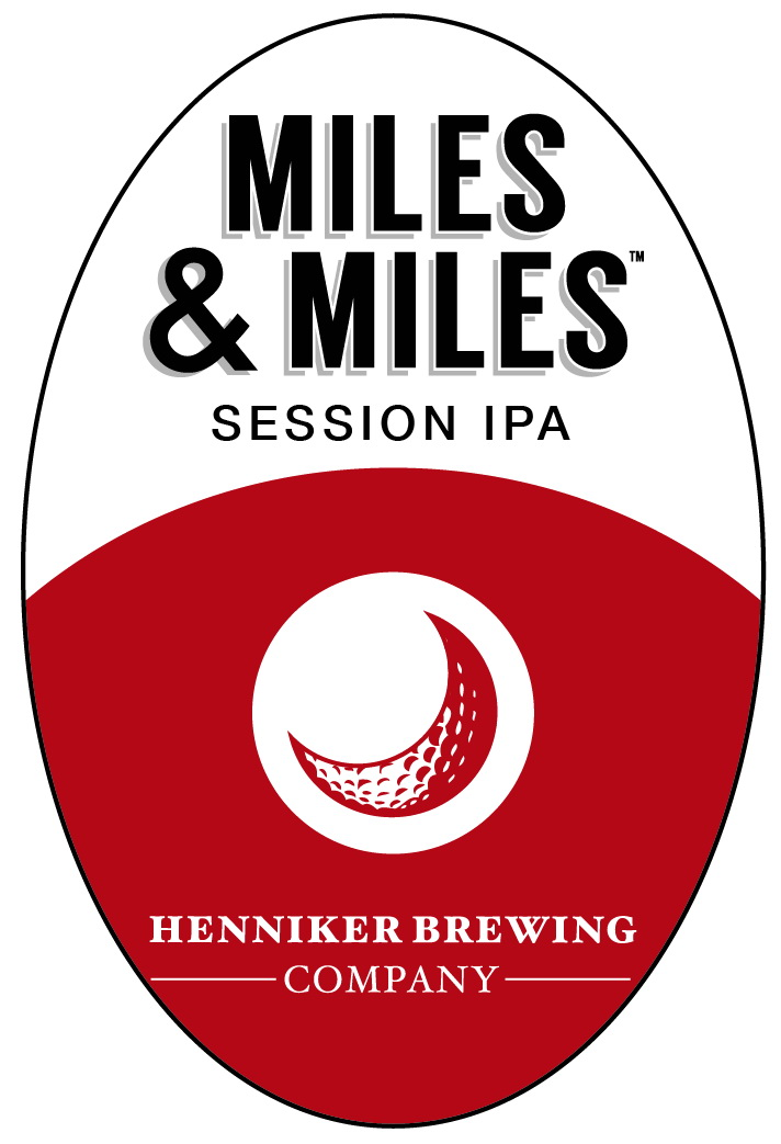 Miles Session IPA Sticker