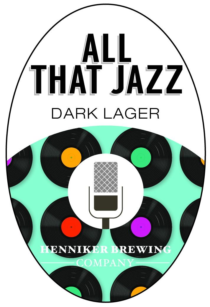 All That Jazz Tap Handle Sticker